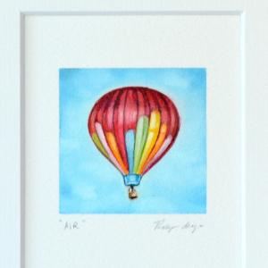 air 2, hot air balloon painting