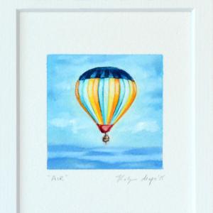 air 3, hot air balloon painting